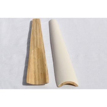BIBOL - Grands Couverts. Bambou Laqué - TIA Blanc mat