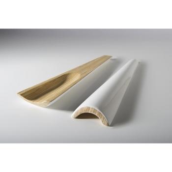 BIBOL - Grands Couverts. Bambou Laqué - TIA Blanc