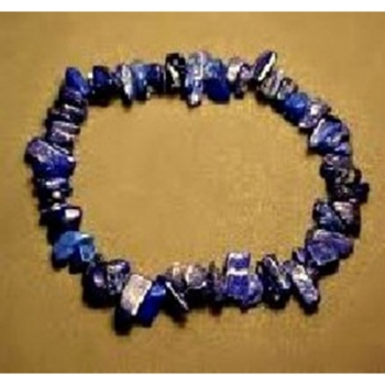 Bracelet chips Lapis Lazuli 1