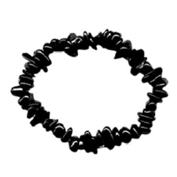 Bracelet Chips Tourmaline Noire 1
