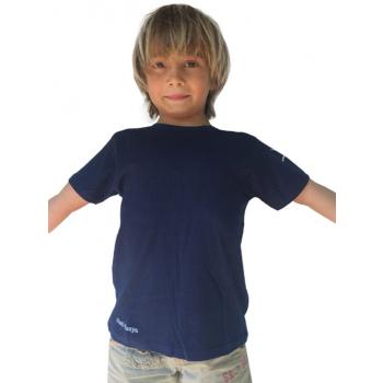 T-Shirt Coton Garçon Bleu nuit