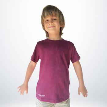 T-Shirt Coton Garçon Violet