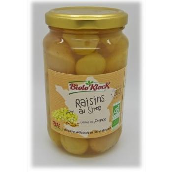 Raisins au sirop - 350g