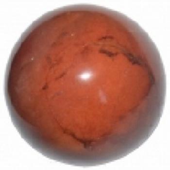 Sphères Jaspe Rouge