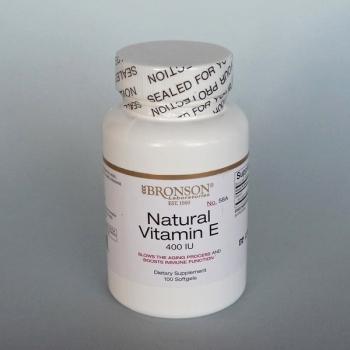 Vitamine E Naturelle  400 Ui