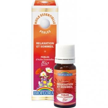 BIOFLORAL - Perle d'Huile Essentielle Bio 20 ml  - Complexe Relaxation et Sommeil
