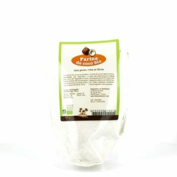 LA MAISON DU COCO - Farine de noix de coco 250 g