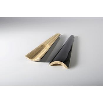BIBOL - Couverts En Bambou Laqué - TIA M Noir