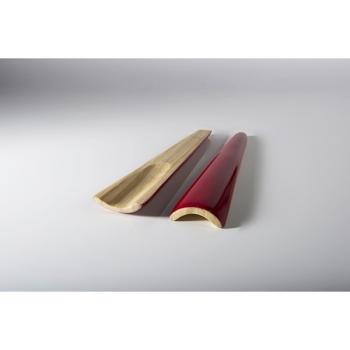 BIBOL - Couverts En Bambou Laqué - TIA M Cerise
