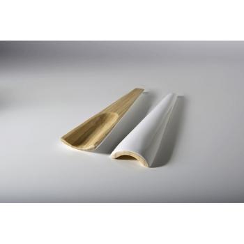 BIBOL - Couverts En Bambou Laqué - TIA M Blanc
