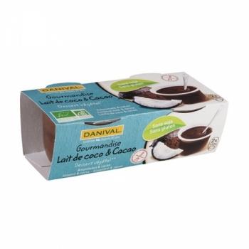 DANIVAL - Gourmandise Lait de Coco & Cacao