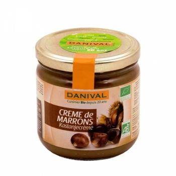 DANIVAL - Crème de Marrons bio