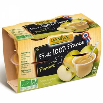 DANIVAL - Purée 100% France Pomme