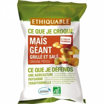 ETHIQUABLE Maïs géant grillé et salé bio & équitable