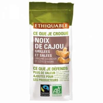 ETHIQUABLE - Noix de Cajou Grillées et Salées