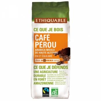 Café Pérou MOULU bio & équitable - 250 g