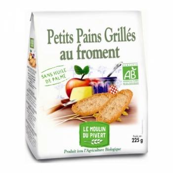 LE MOULIN DU PIVERT - Petits Pains Grillés Froment
