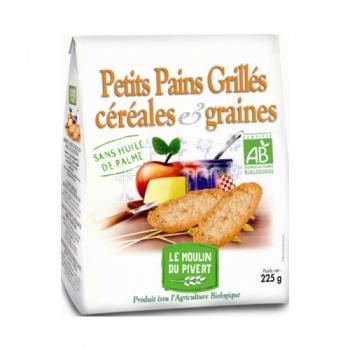 LE MOULIN DU PIVERT - Petits Pains Grillés Céréales Graines