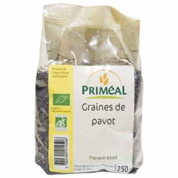 PRIMÉAL Graines de pavot bio