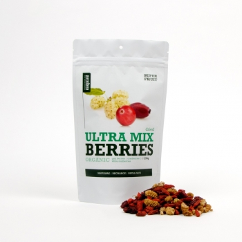 Ultra Mix Baies Bio (Baies De Goji, Canneberges, Mures Blanches)