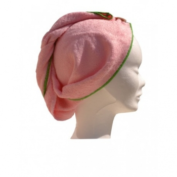 FIBAO - Turban Sèche-Cheveux en Eponge de Bambou