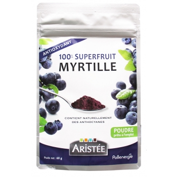100% superfruit Myrtille - 60 gr
