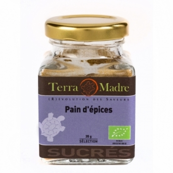 TERRA MADRE - Mélange pain d'épices bio