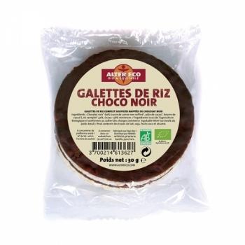 ALTER ECO - Galettes de Riz Choco Noir
