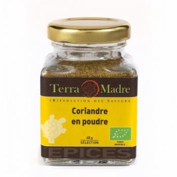 TERRA MADRE - Coriandre en poudre bio