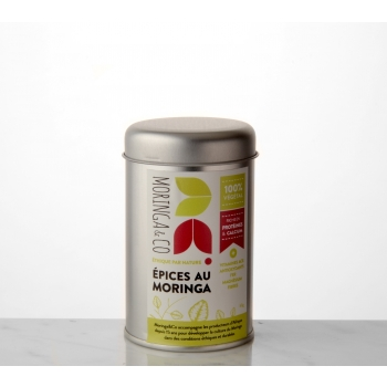 Epices au moringa - Saupoudreuse 50 g