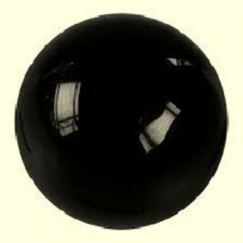 Sphère Obsidienne Noire Oeil Céleste