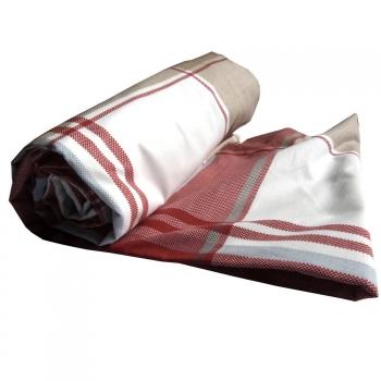Drap-housse en coton bio -Ligne Quilt ( 90x190 cm )