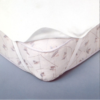Protège matelas alèse plate ( 140x190 cm ) -coton bio