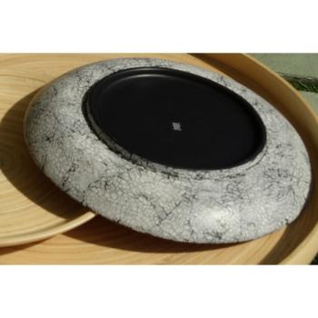 BIBOL - Grande Assiette Plate En Bambou - BANG Coquille d'oeuf