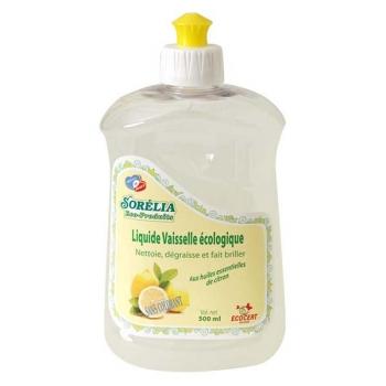 Liquide vaisselle concentré à l'huile essentielle de citron