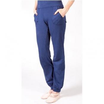 Pantalons femme en jersey de coton bio