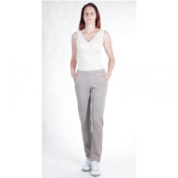 Pantalons femme en jersey moletonné