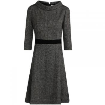 Robe en coton et laine Tulesso