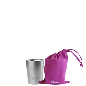 250ml cup iso inox brossé poche magenta