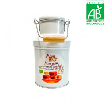 Caramels tendres au beurre frais et à la fleur de sel de Guérande - BIO - 180g