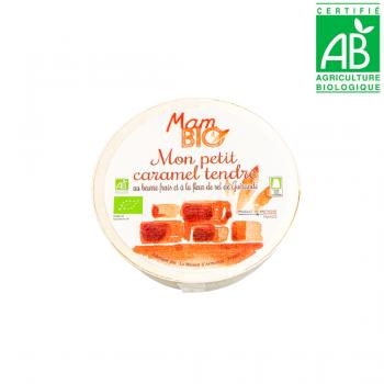 Caramels tendres au beurre frais et à la fleur de sel de Guérande - BIO - 150g