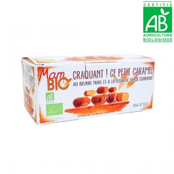 Caramels durs au beurre frais et à la fleur de sel de Guérande - BIO - 140g