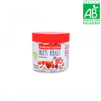 Bonbons d'antan aux fruits rouges - BIO - 120g