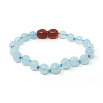 Bracelet pierre naturelle - Aigue marine