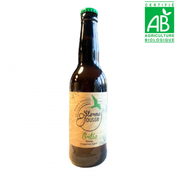 Bière blonde artisanale ORTIE - BIO - 33cl