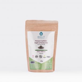 Masque argiles & plantes ayurvédiques GRAS- BIO - 200g