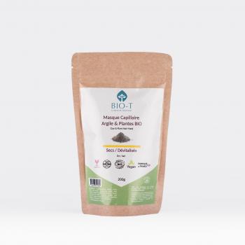 Masque argiles & plantes ayurvédiques SECS- BIO - 200g