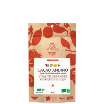 Boisson Cacao Andino Cru BIO -  80g