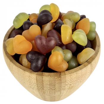 Bonbons Coeur Bio en Vrac 125g