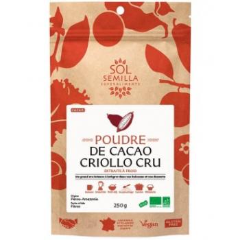 Cacao Criollo Cru  - Poudre - 250g